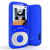 MP3 Player with Bluetooth, 16GB Portable Audio Music Player with FM Radio Voice