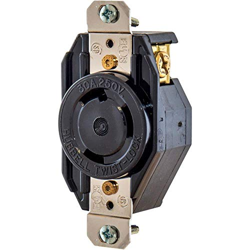 30 Amp, 250 Volt, NEMA L6 30P Locking