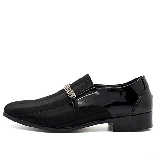 Footwear Durchgängies Keilabsatz Schwarz London Herren Plateau Sandalen mit Z7vvpdq