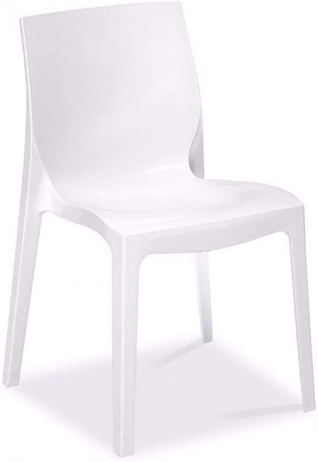 GRAND SOLEIL Set di 2/sedie Ice impilabile Design Viola Lucido