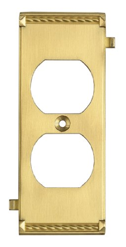 Elk 2503BR Brass Middle Switch (Brass Middle Switchplate)