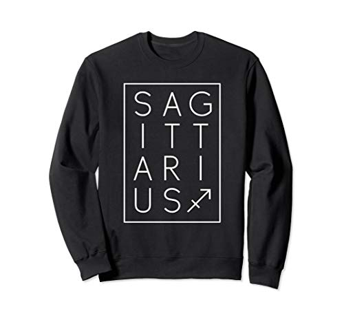 Sagittarius Sweatshirt Zodiac Sign Astrology Birthday Gift