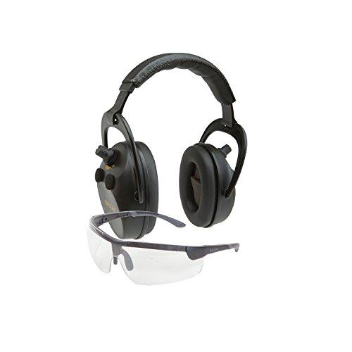Allen Company 2335 Axion Ballistic Muff   Glasses Combo  Black