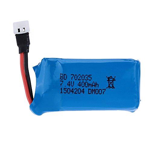 JIMI Original DM007 RC Part 7.4V 400mAh 25C Lipo Battery 2s for DM007 RC Quadcopter