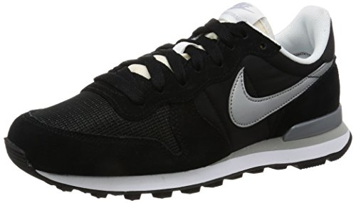 NIKE Mens Internationalist Running Shoe White-black
