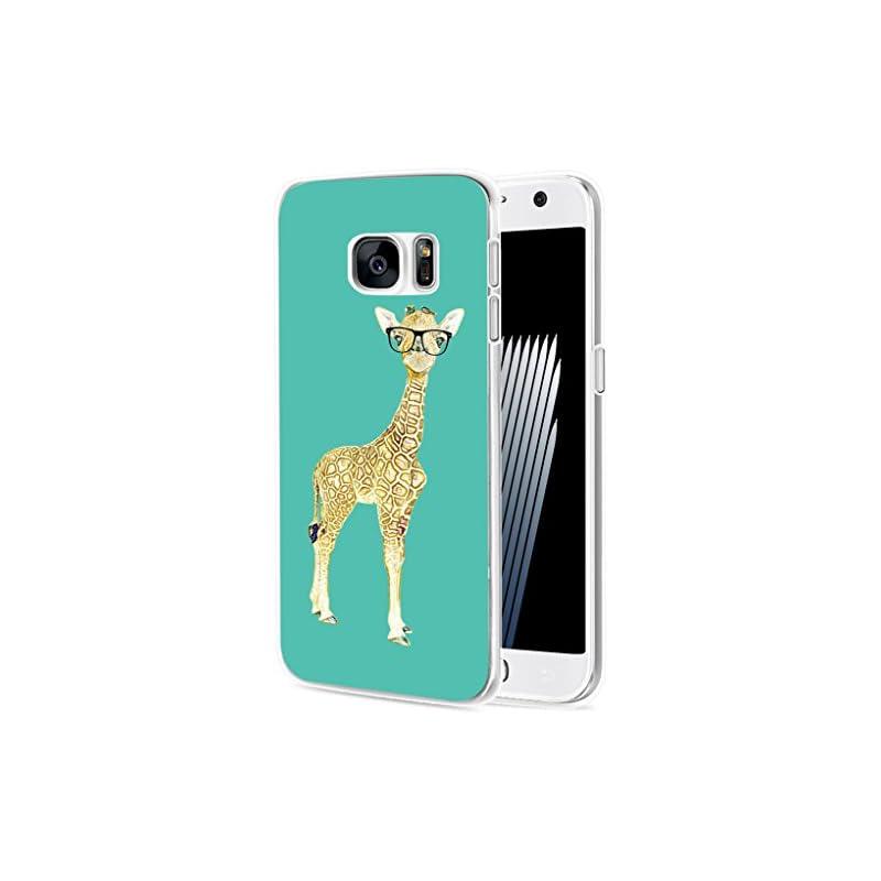 S6 Case Giraffe/ IWONE Designer TPU Rubb