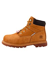 KINGSHOW GW Men's 1606ST Steal Toe Work Boots