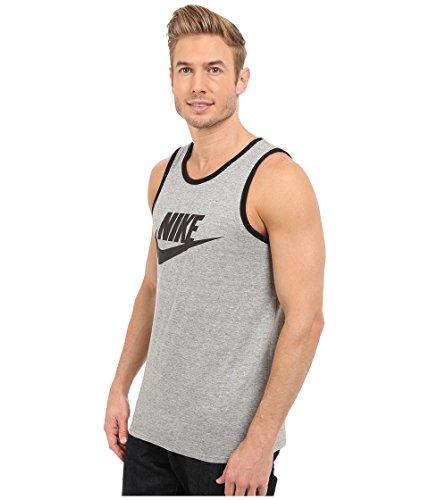 Nike Mens Ace Logo Linne Grå / Svart