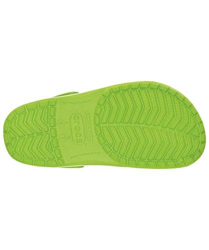 Blue Volt enfant Green Varsity Sabots Band Crocs Vert mixte 48pwSq