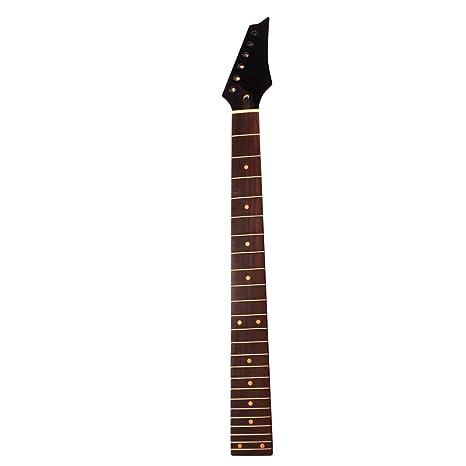 Artibetter 24 trastes arce guitarra mástil diapasón de palisandro ...