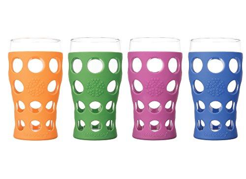 Lifefactory 20 Ounce Glassware Protective Multicolor