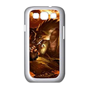 Samsung Galaxy S3 9300 Cell Phone Case White League of Legends Black Belt Udyr OIW0447379