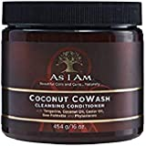 As I Am Coconut Cowash Cleansing Conditioner - 16 ounce - Gentle Daily Cleanser for Hair and Scalp - Removes Residue - Adds a
