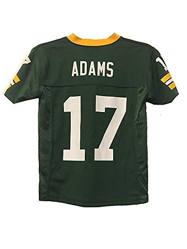 low priced 9e017 f6814 Davante Adams Green Bay Packers NFL Youth Green Home Mid ...