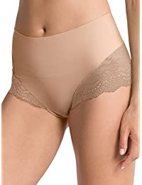SPANX Women's UndieTectable Lace High Hipster Briefs