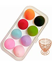 Makeup Sponge Set,Makeup Puff Beauty Makeup Egg,Soft Polyester Makeup Blender Sponges