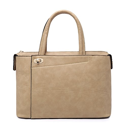 Hobop Shb700016c5 New Style Pu Leather Korean Style Women's Handbag Box Killer Package