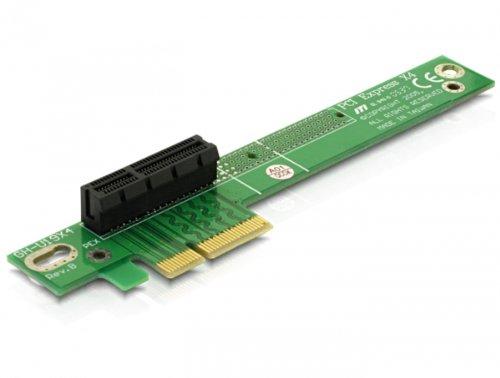 DeLOCK Riser PCIe x4 scheda di interfaccia e adattatore Interno