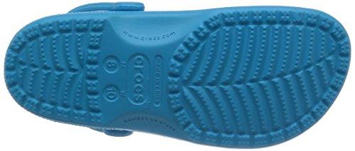 crocs Classic, Zuecos Unisex Adulto, Azul (Electric Azule), 46-47