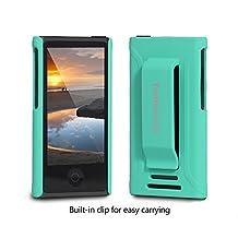 Tranesca Ultra Slim Protective Case for iPod Nano 7&8th Generation.(Sea Green)