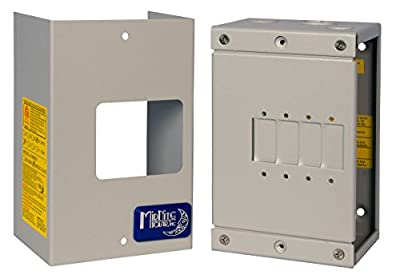 MidNite Solar Breaker Box MNEDC Quad