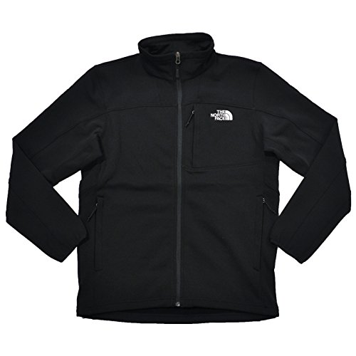 The North Face Mens 200 Cinder Full Zip Jacket (Large, TNF Black)