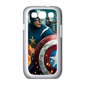 AKERCY Avengers Age of Ultron Captain America Phone Case For Samsung Galaxy S3 I9300 [Pattern-4]
