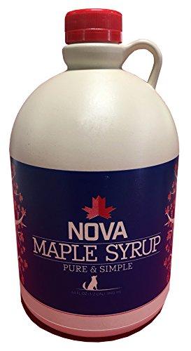 Nova Maple Syrup - US Grade-A Dark Robust Taste Maple Syrup 16 fl.oz (1 Pint)