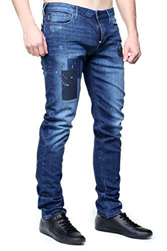 Jeans Blu Emporio Denim Uomo Armani Xwq18