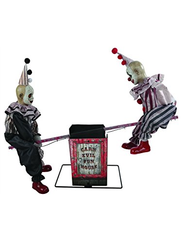 Morris Costumes Animated See-Saw Clowns with Sound - Standard