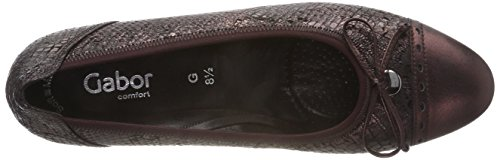 Escarpins Marron Aubergine Shoes Femme Gabor Comfort Ebano Fashion 61 AwyZtcOcq