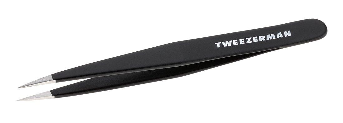 Tweezerman Stainless Steel Point Tweezer, Midnight Sky 1241-BLLT