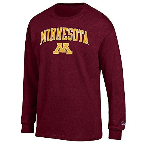 Golden Long Sleeve - Elite Fan Shop Minnesota Golden Gophers Long Sleeve Tshirt Varsity Maroon - XXL