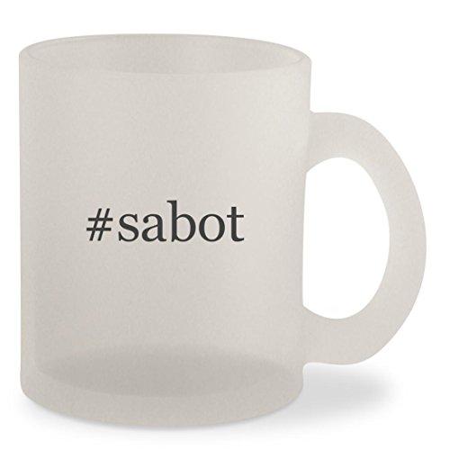 Sabots Shockwave (#sabot - Hashtag Frosted 10oz Glass Coffee Cup Mug)