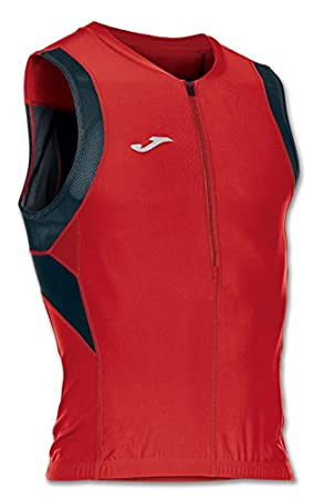 Joma Camiseta Skin Red-Black Sleeveless Running Camiseta Deportiva para Mujer: Amazon.es: Deportes y aire libre