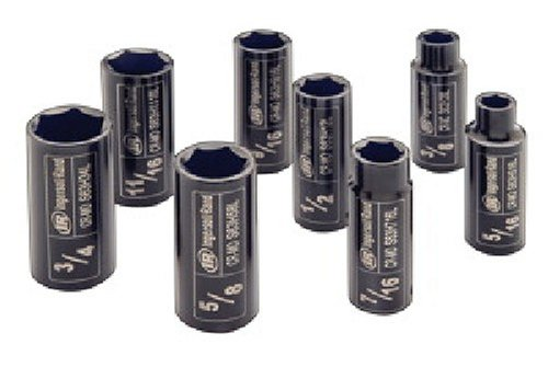 Ingersoll Rand SK3H8L 3/8-Inch 8 Piece Deep Impact Socket ()