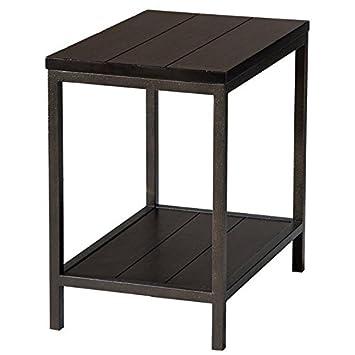 Stein World Furniture West Branch Chair Side Table, Black
