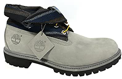 Timberland Roll TOP Boot Gray 6457a Retail $140 New in the Box (11)