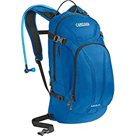 CamelBak M.U.L.E. Hydration Pack (Discontinued Model) 2 The iconic M.U.L.E is the perfect balance of cargo and hydration in a feature-rich, narrow-gauge design Antidote reservoir features Quick Link system, easy open/close cap, lightweight fill port, Dryer arms, center baffling and low-profile design Key pack features: xv back panel, magnetic tube trap, bike tool organizer pocket, four-point compression, helmet hooks