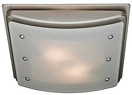 Superieur Hunter 90064 Ellipse Bathroom Ventilation Exhaust Fan With Light And  Swirled Marble Glass (Bathroom Vent