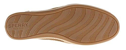 Sperry Top-Sider mujeres de Barrelfish Boat Shoe Linen