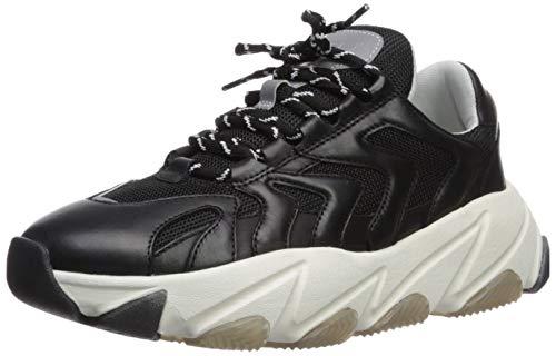 Ash Women's AS-Extreme Sneaker Black/Silver 37 M EU (7 US) ()