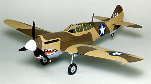Guillow's P-40 Warhawk Laser Cut Model Kit by Guillow (Image #2)