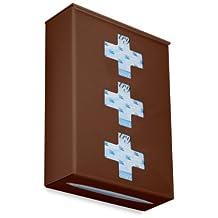 """TrippNT 52420Ultimate médico Cruz Triple Ecuestre café soporte doble de dispensador de guante, 25.4cm ancho x 5"""" de altura x 4"""" de profundidad"""