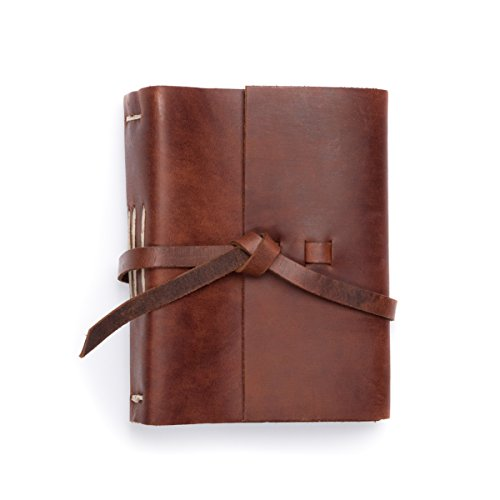 Photo Album Leather In Saddle, Rustico's Journey holds 4X6 Photo's - Made in (Leather Photo Pack)