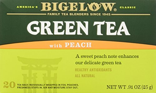 Bigelow Green Tea w/ Peach Tea Bags, 20 ct ()