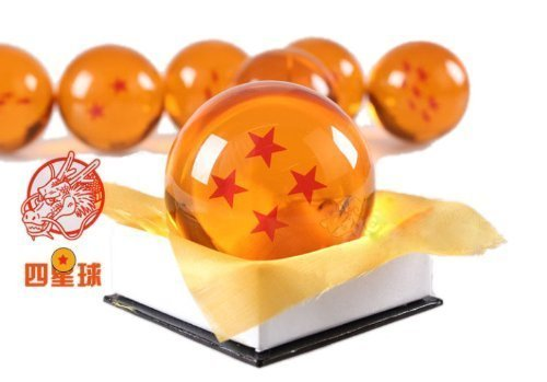 One point Crystal 7cm cosplay props Ruleronline four star ball (DRAGON BALL) Crystal Dragon dragon ball Dragon Ball (japan import)
