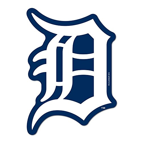 Wincraft MLB Detroit Tigers Logo on The GoGo Decals, Team Color, One Size