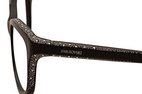 288750e758 Eyeglasses Swarovski SK 5100 SK5100 002 matte black at Amazon Men s  Clothing store