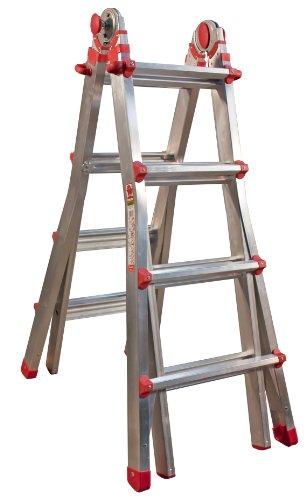Jumbo Hobby 41JH101 Mehrzweckleiter Aluminium 4/7 Stufen